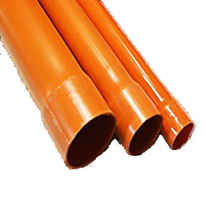Orange PVC Piping