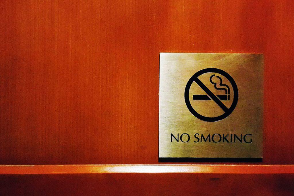 no smoking inside