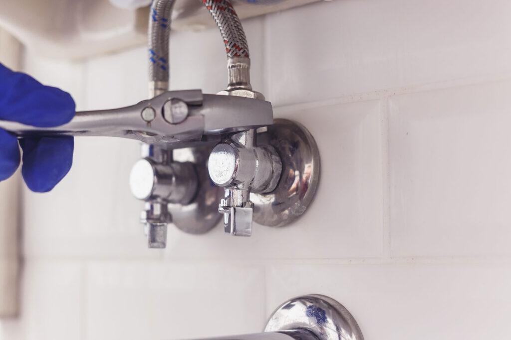 under sink valve